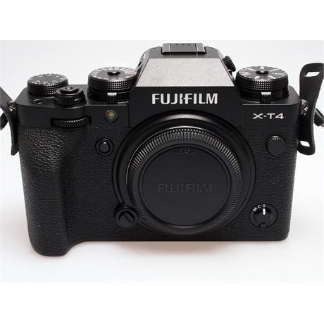 Fujifilm X-T4 Body Only - Black thumbnail