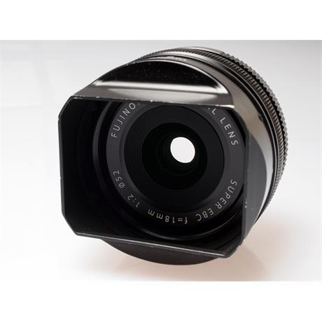 Fujifilm 18mm F2 XF R thumbnail