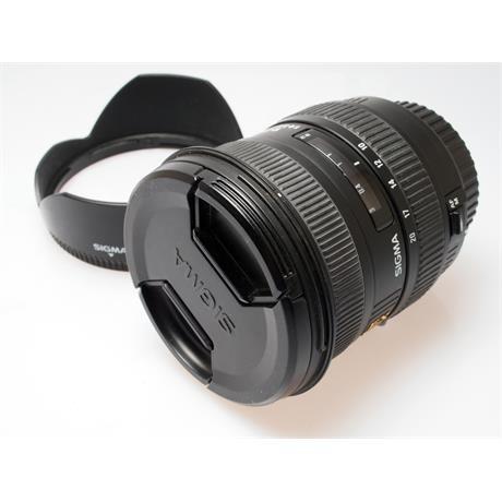 Sigma 10-20mm F4-5.6 EX DC HSM - Canon EOS thumbnail