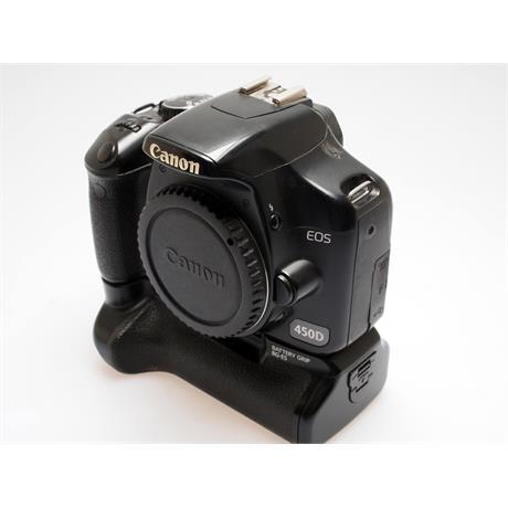 Canon EOS 450D + BG-E5 Grip thumbnail