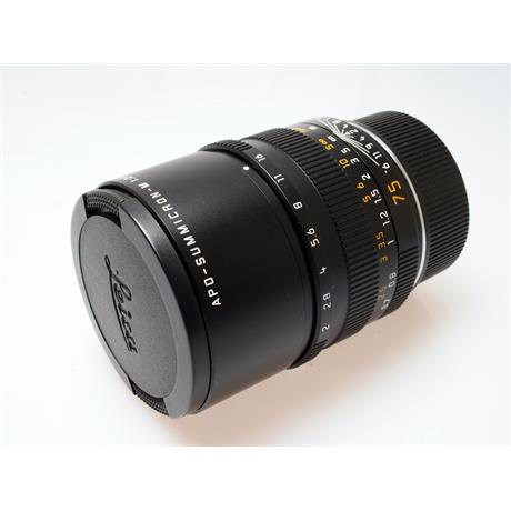 Leica 75mm F2 Apo M Black 6bit thumbnail