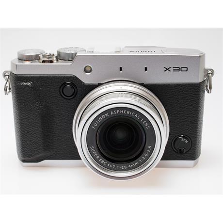 Fujifilm X30 - Silver thumbnail