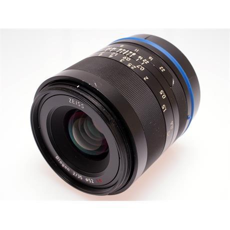 Zeiss 35mm F2 Loxia - Sony E thumbnail