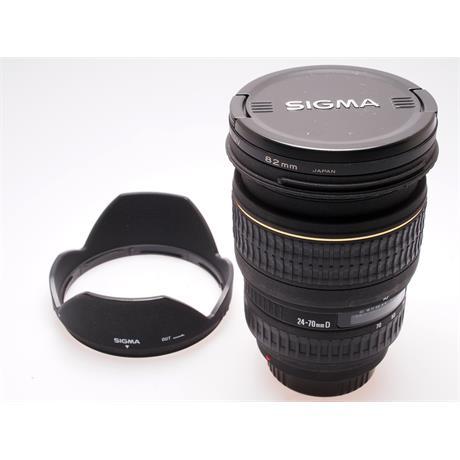 Sigma 24-70mm F2.8 EX DG - Sony AF thumbnail
