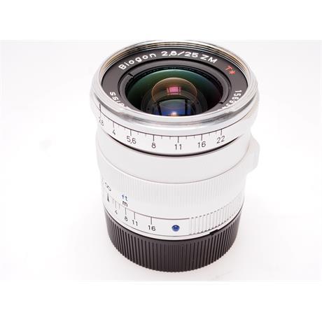 Zeiss 25mm F2.8 ZM - Silver thumbnail
