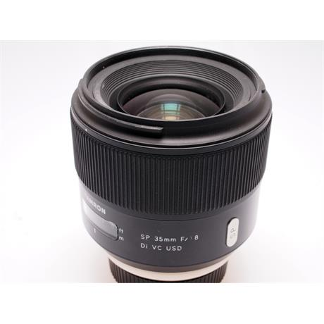 Tamron 35mm F1.8 Di VC USD - Nikon AF thumbnail