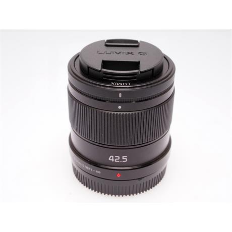 Panasonic 42.5mm F1.7 ASPH - Black thumbnail