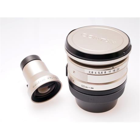 Contax 21mm F2.8 G + Finder thumbnail