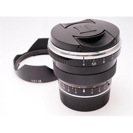 Zeiss 18mm F4 ZM - Black thumbnail