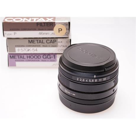 Contax 35mm F2 G Black Set thumbnail