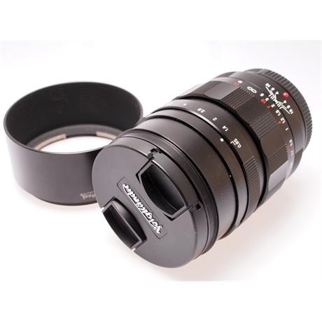 Voigtlander 42.5mm F0.95 Nokton thumbnail