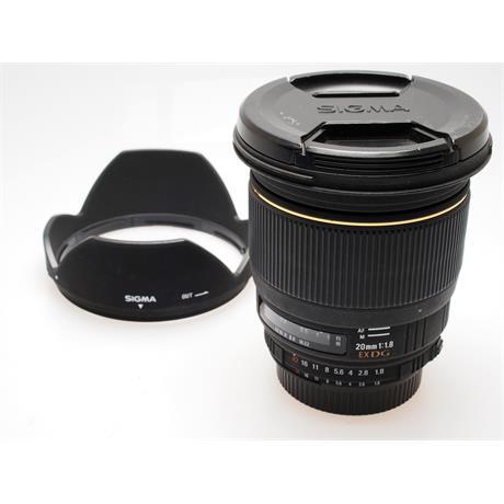 Sigma 20mm F1.8 EX DG - Nikon AF thumbnail