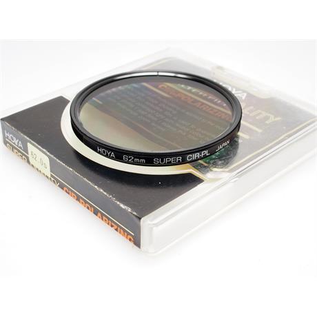 Hoya 62mm Super Circular Polariser thumbnail