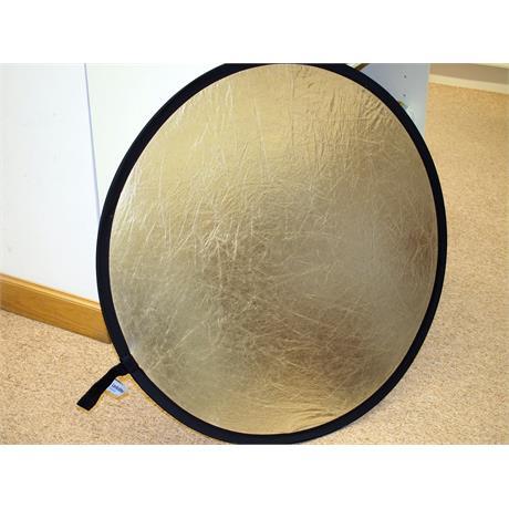 Lastolite 100cm Gold/Silver Reflector thumbnail