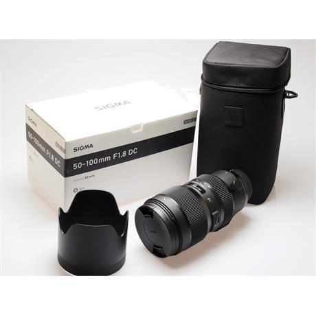 Sigma 50-100mm F1.8 DC HSM A - Nikon AF thumbnail