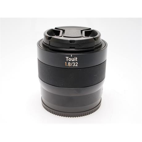 Zeiss 32mm F1.8 Touit - Sony E thumbnail