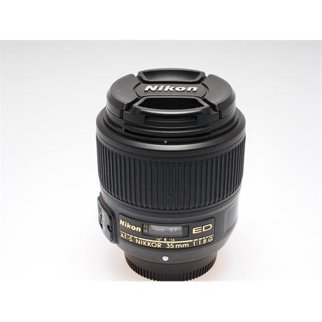 Nikon 35mm F1.8 AFS G FX thumbnail