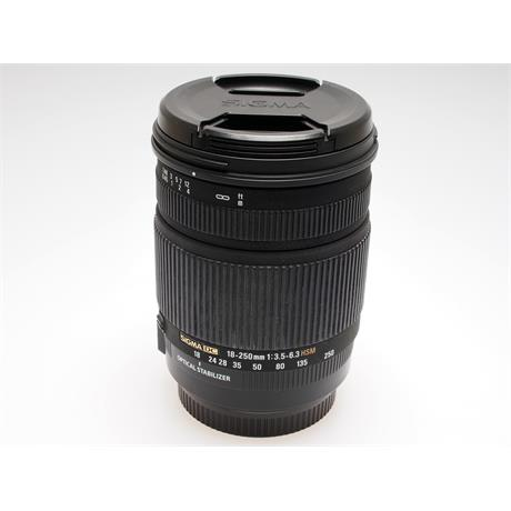 Sigma 18-250mm F3.5-6.3 DC OS HSM - Canon EOS thumbnail