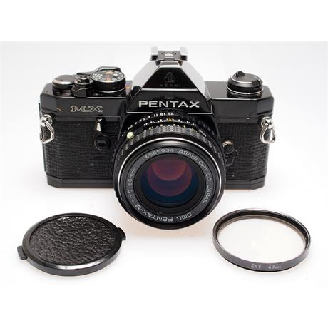 Pentax MX black + 50mm F1.7 thumbnail