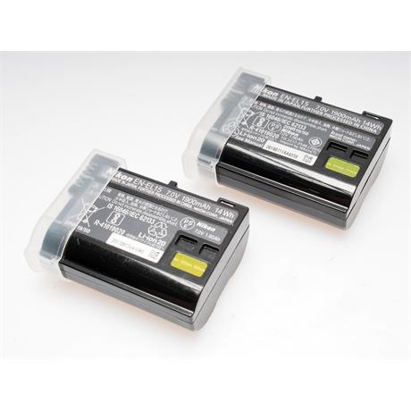 Nikon 2x EN-EL15 Batteries thumbnail