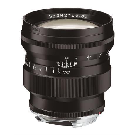 Voigtlander 75mm F1.5 VM Asph Nokton - Black thumbnail