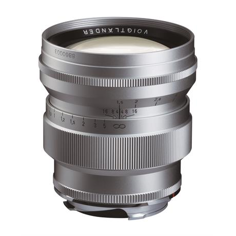 Voigtlander 75mm F1.5 VM Asph Nokton - Silver thumbnail