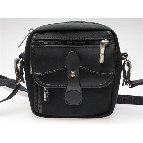 Billingham Pola Shoulder Bag - Black/Black thumbnail
