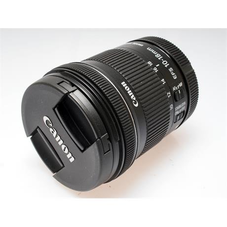 Canon 10-18mm F4.5-5.6 EFS IS STM thumbnail