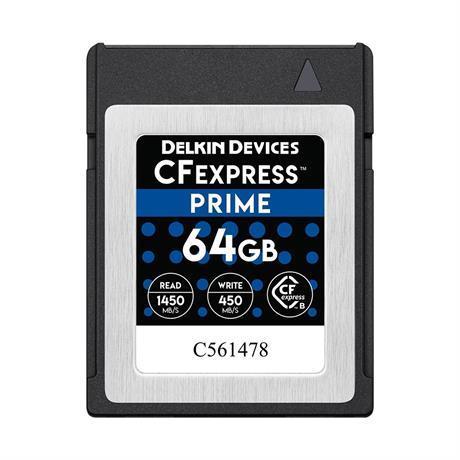 Delkin 64GB CF Express - Prime thumbnail