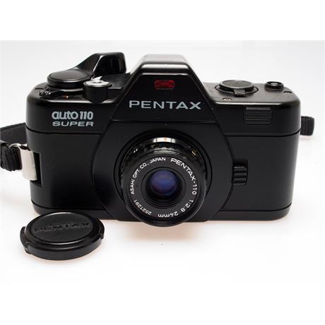 Pentax Auto 110 Super + 24mm f2.8 + 70mm f2.8 thumbnail