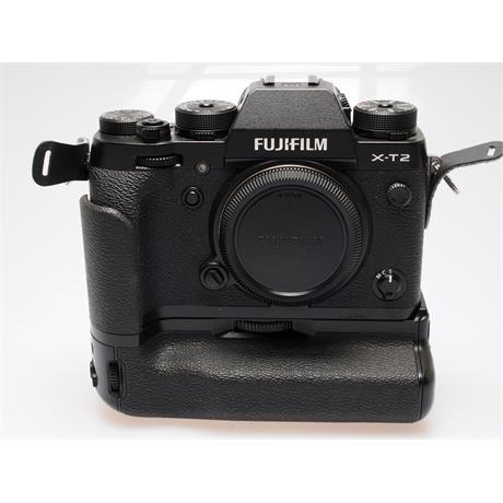 Fujifilm X-T2 Body + VPB-XT2 Vertical Grip thumbnail