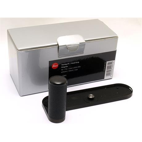 Leica M8 Hand Grip - Black 14471 thumbnail