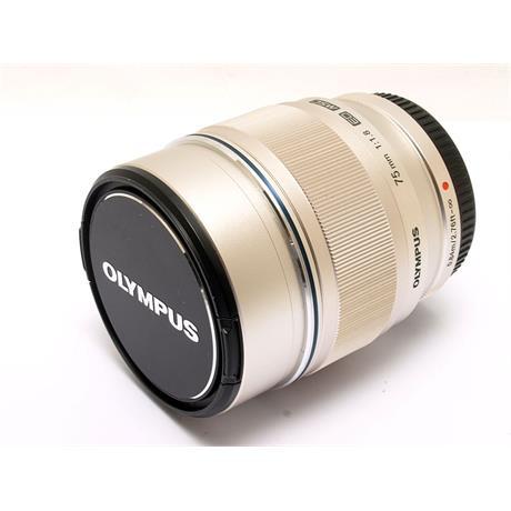 Olympus 75mm F1.8 ED M.Zuiko - Silver thumbnail