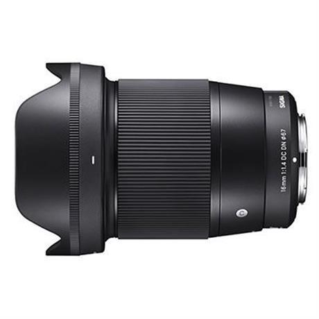 Sigma 16mm F1.4 DN C - Black - Micro 4/3rds thumbnail