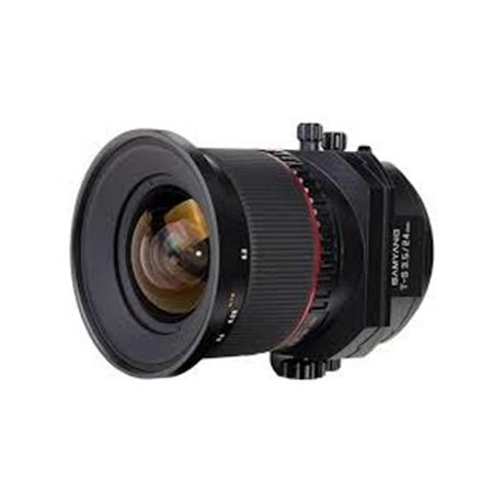 Samyang 24mm F3.5 Tilt-Shift ED AS UMC - Canon EOS thumbnail