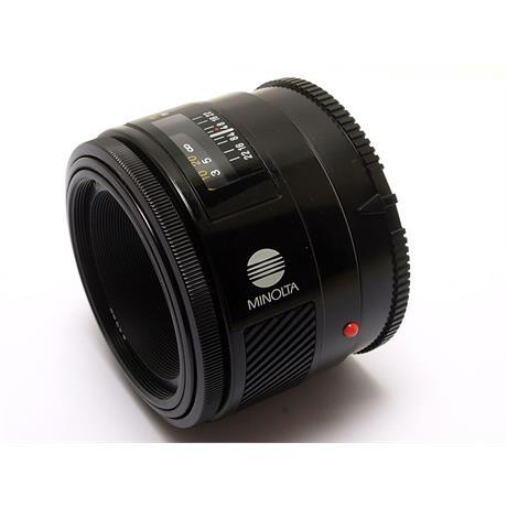 Minolta 50mm F1.7 AF thumbnail