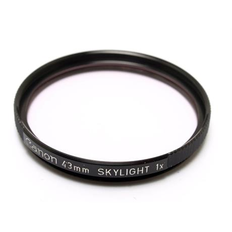 Canon 43mm Skylight  thumbnail