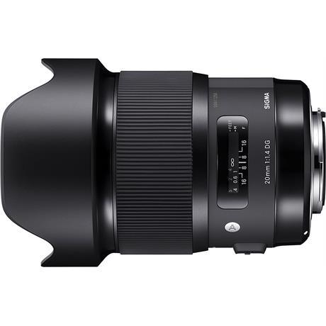 Sigma 20mm F1.4 DG HSM A - Nikon AF thumbnail