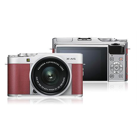 Fujifilm X-A5 + 15-45mm - Pink/Silver  thumbnail