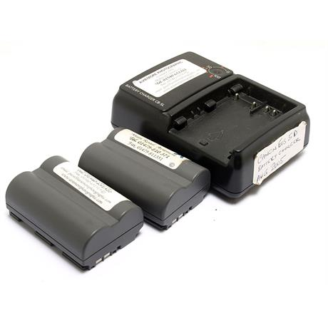Canon CB-5L Charger + 2x BP511 Batteries thumbnail
