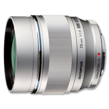 Olympus 75mm F1.8 ED M.Zuiko - Silver - OLY75 Was £869 thumbnail