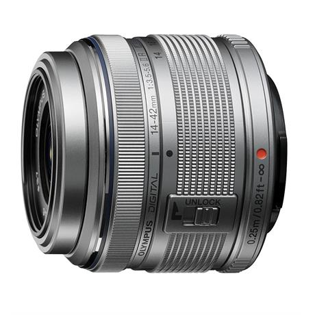 Olympus 14-42mm F3.5-5.6 EZ - Silver  thumbnail