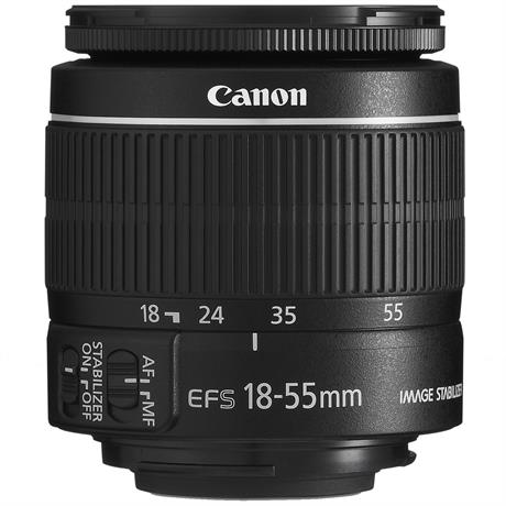 Canon 18-55mm F3.5-5.6 IS STM EF-S thumbnail