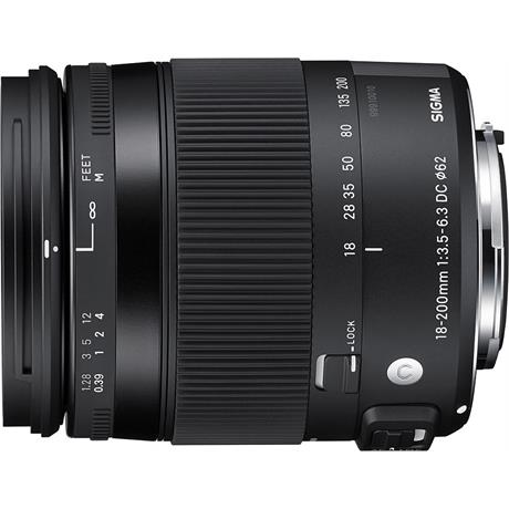 Sigma 18-200mm F3.5-6.3 DC Macro OS HSM C - Canon EOS thumbnail
