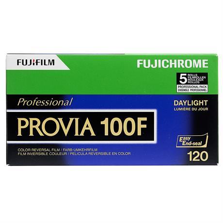 Fujifilm Provia 100F 120 Roll Film x10 thumbnail