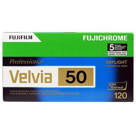 Fujifilm Velvia 50 120 Roll Film x10 thumbnail