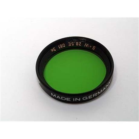 B+W 28.5mm Green (061) - Single Coated thumbnail