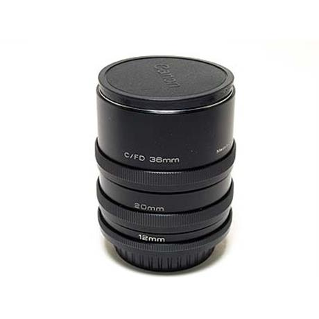 Jessops Extension Tube Set - Canon FD thumbnail