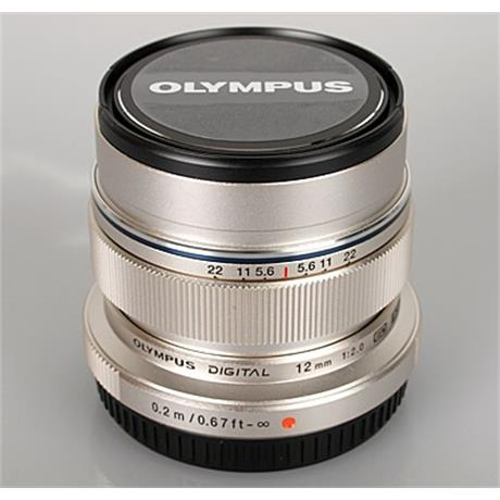 12mm F2 ED M.Zuiko - Silver ~ Olympus Cashback Promotion thumbnail