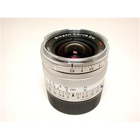 Zeiss 28mm F2.8 ZM - Chrome thumbnail
